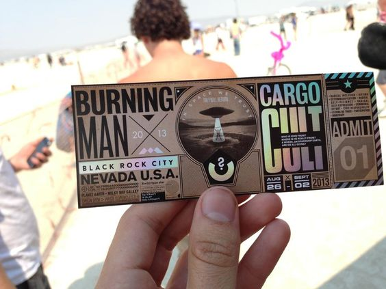 burning man festivali bileti