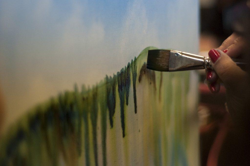 resim, resim yapma teknikleri, yağlı boya