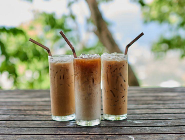 soğuk kahve yapımı, soğuk kahveler