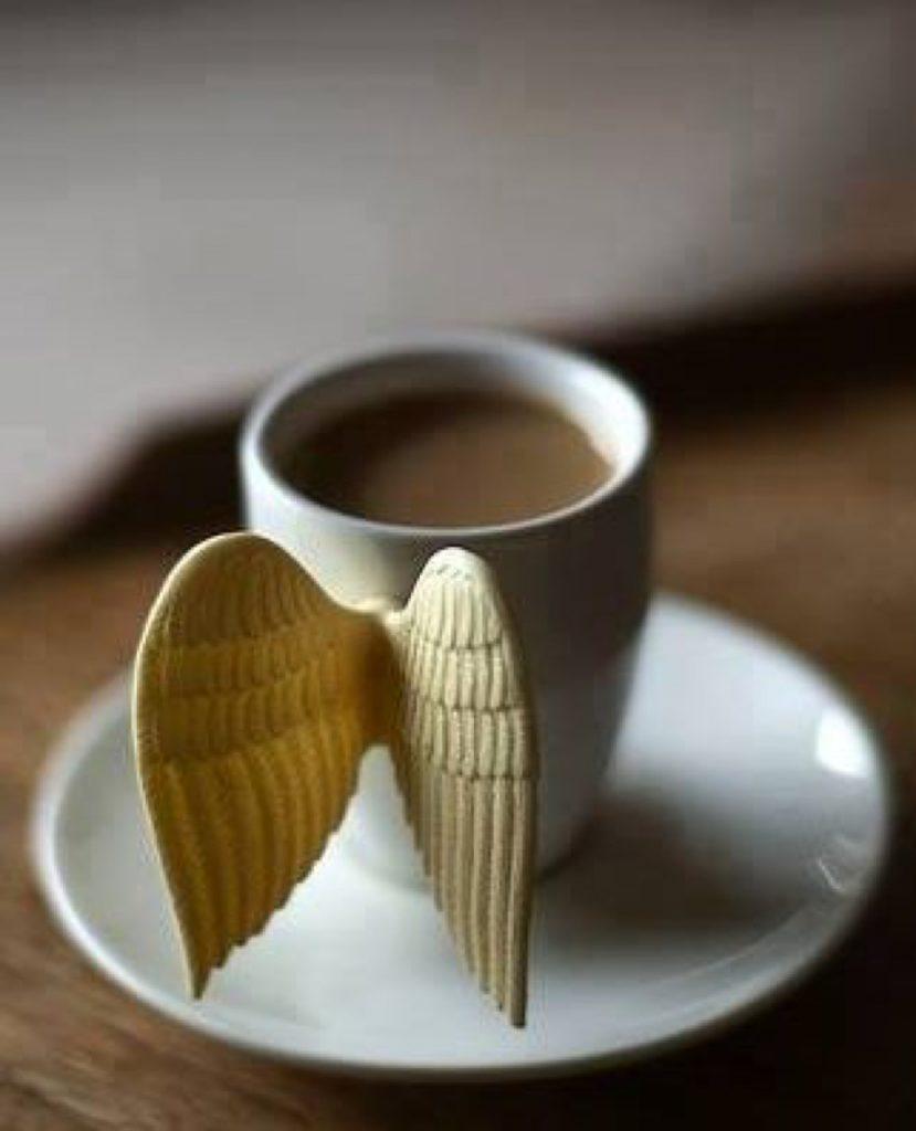 melek kahve fincanı, ilginç kahve fincanı modelleri