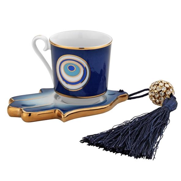 nazar boncuklu kahve fincanı, ilginç kahve fincanı modelleri