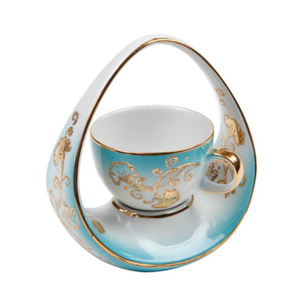 oval mavi kahve fincanı, ilginç kahve fincanı modelleri
