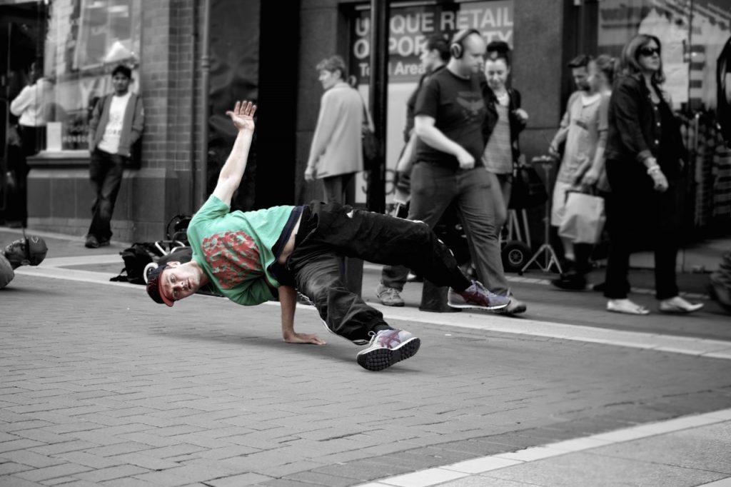hip hop dans eden çocuk