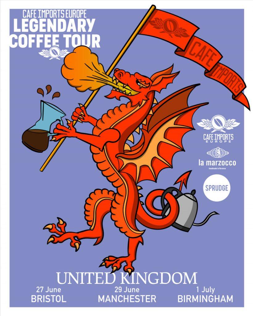 dünyanın en eğlenceli kahve turu, cafe imports legendary coffee tour