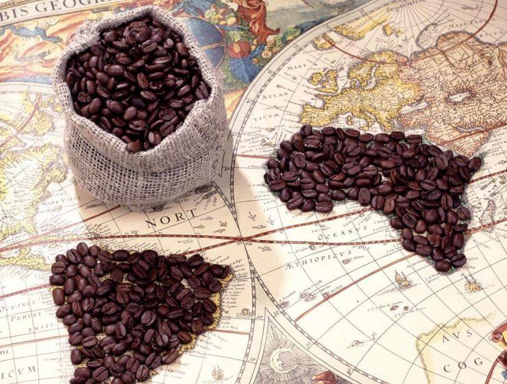 kahve ve harita, kahve tarihi