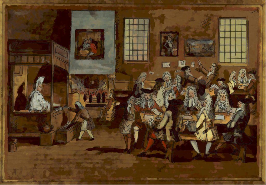kahve tarihi hollanda