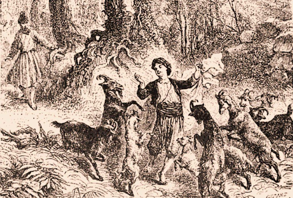 kahve tarihi, çoban kaldi