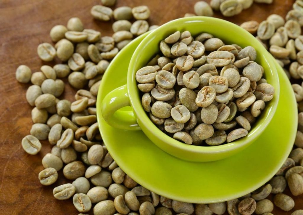 yeşil kahve nasıl yapılır, fincanda yeşil kahve çekirdekleri